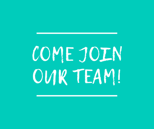 Come JoinOUr Team!