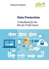 Publication cover - Data Protection - A Handbook for the Not-for-Profit Sector Nov 2016